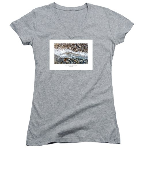 At The Waters Edge Women's V-Neck