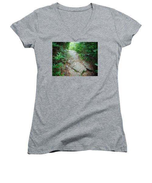 At-trail Blazes Women's V-Neck