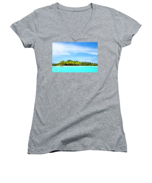Atoll Women's V-Neck T-Shirt