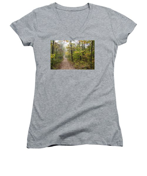 Autumn Afternoon Women's V-Neck T-Shirt