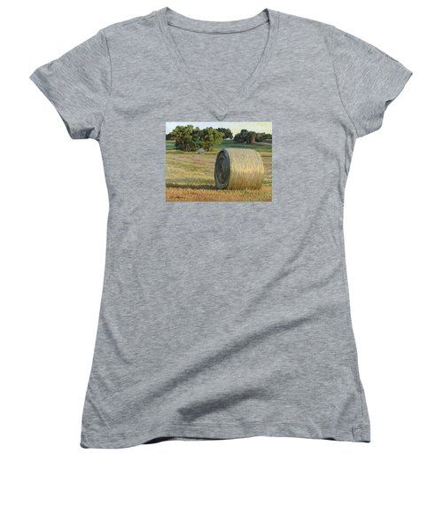 August Bales Women's V-Neck (Athletic Fit)