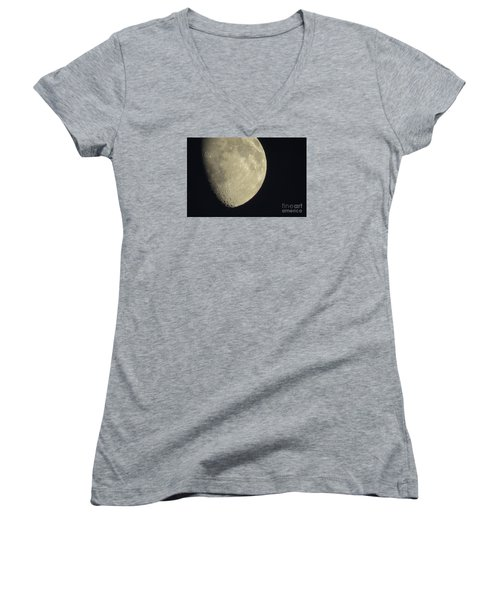 August Moon Women's V-Neck (Athletic Fit)