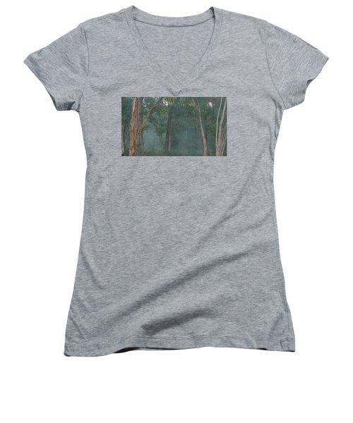 Australian Morning Women's V-Neck T-Shirt (Junior Cut)