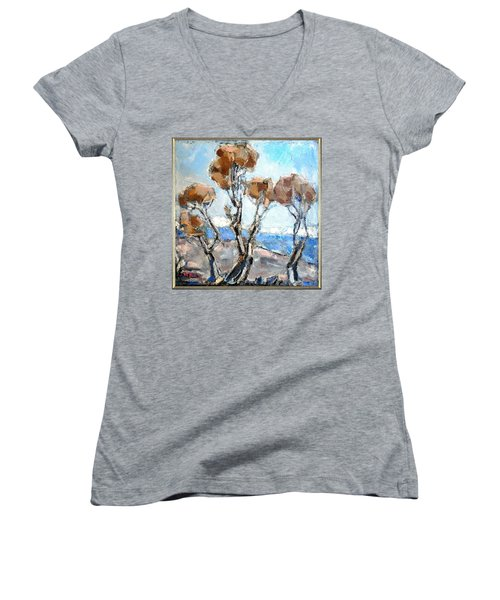 Autumn 12 Women's V-Neck (Athletic Fit)