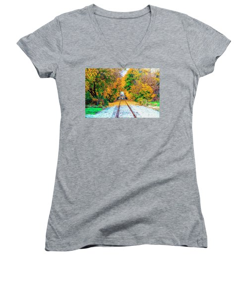 Autumn Days Women's V-Neck