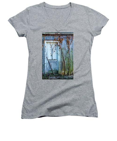 Autumn Door Women's V-Neck T-Shirt