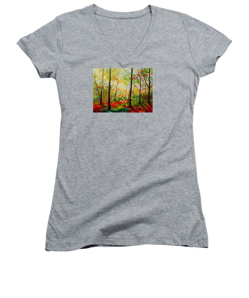Autumn Light Women's V-Neck
