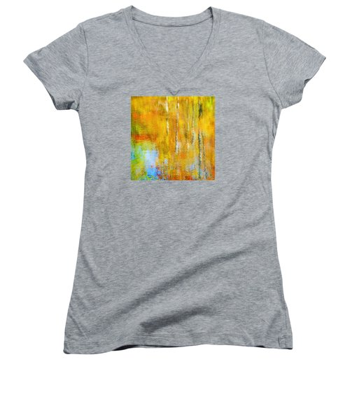 Autumn Reflection Women's V-Neck