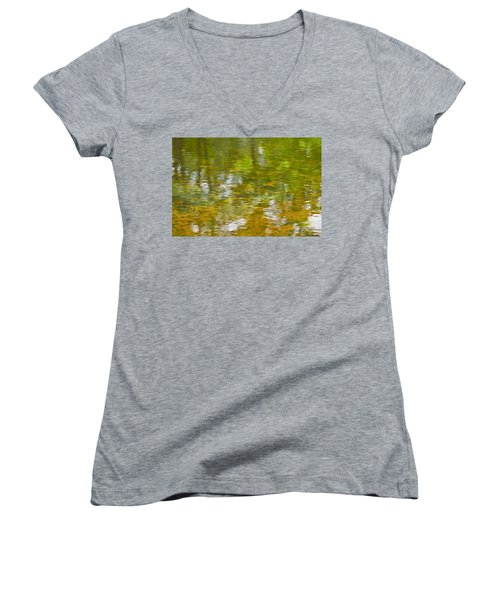 Autumn Reflections Women's V-Neck