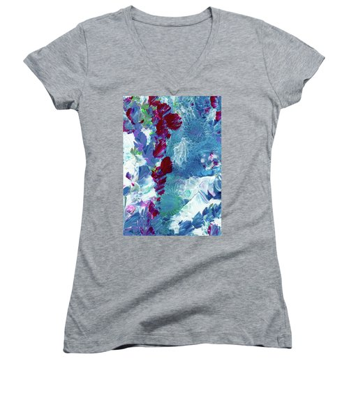 Avalanche Alaska #2 Women's V-Neck