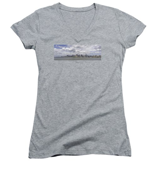 A View From New Jersey 1 Women's V-Neck