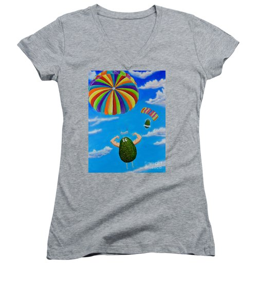 Avocado's From Heaven Women's V-Neck