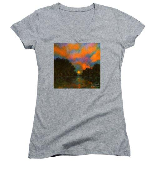 Awaken The Dream Women's V-Neck T-Shirt