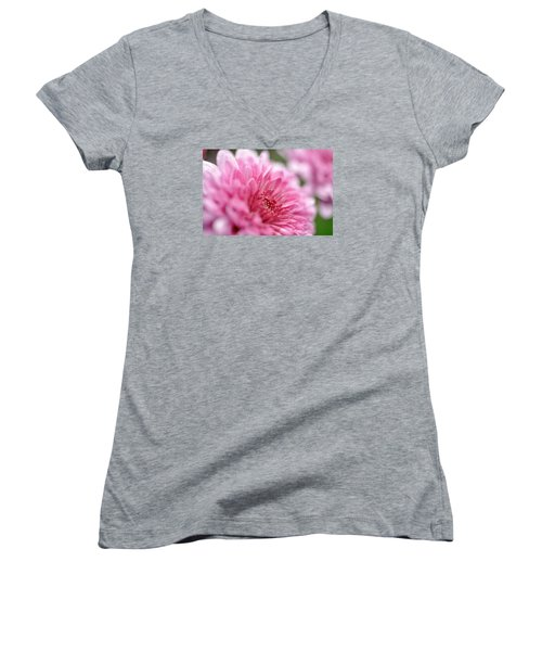 Women's V-Neck T-Shirt (Junior Cut) featuring the photograph Awakening by Glenn Gordon