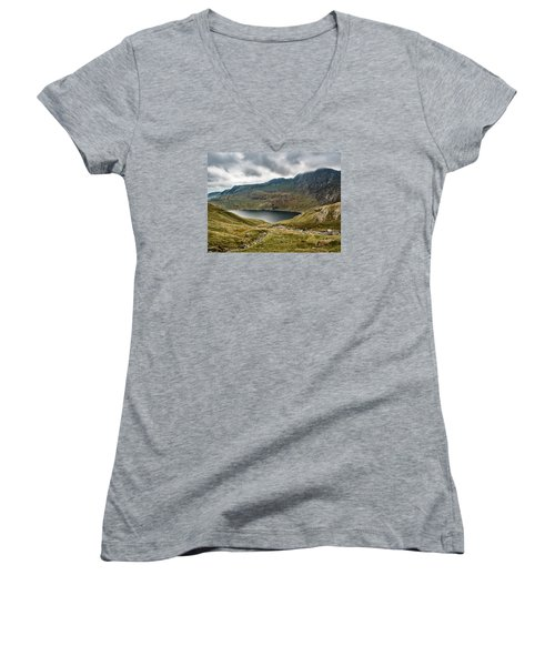 Awesome Hike Women's V-Neck (Athletic Fit)