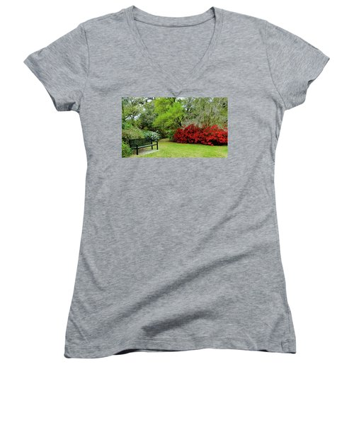 Azalea Time Women's V-Neck