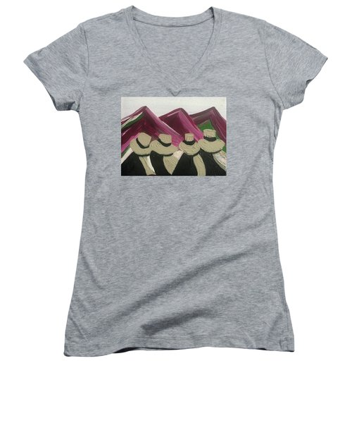 The Andes Women's V-Neck (Athletic Fit)