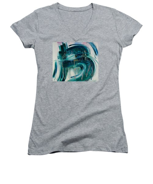 B -allet Women's V-Neck T-Shirt