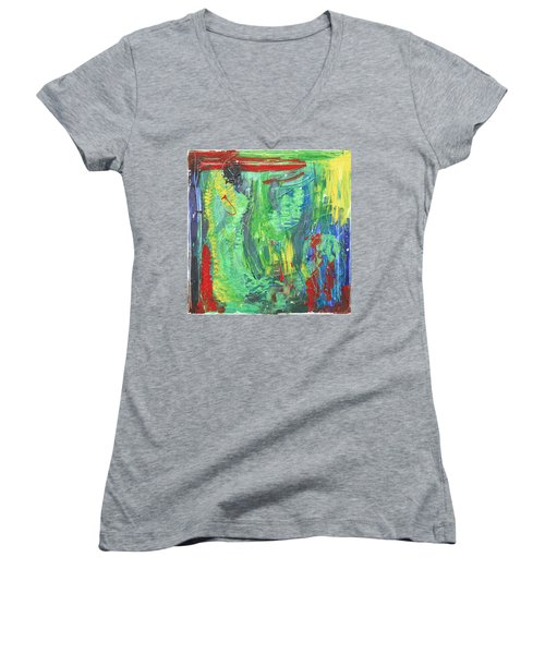 B-beautifull Women's V-Neck T-Shirt