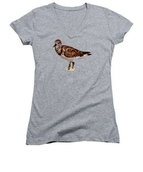 B Bird Women's V-Neck