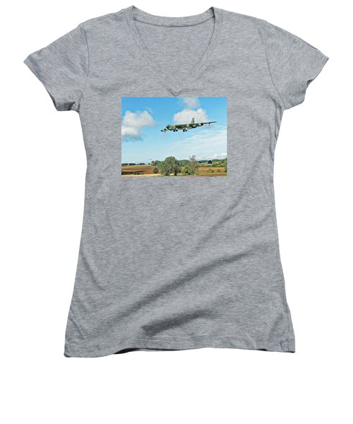 B52 Stratofortress -2 Women's V-Neck (Athletic Fit)