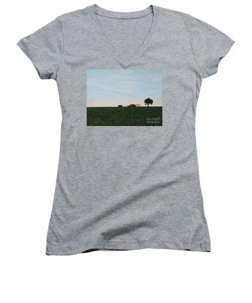 Back 40 Women's V-Neck T-Shirt