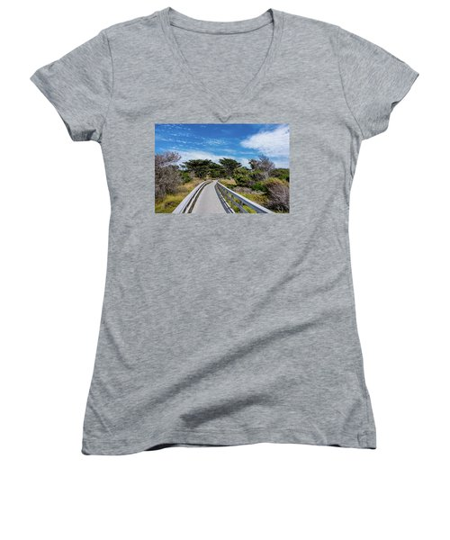 Back To The Grounds Women's V-Neck