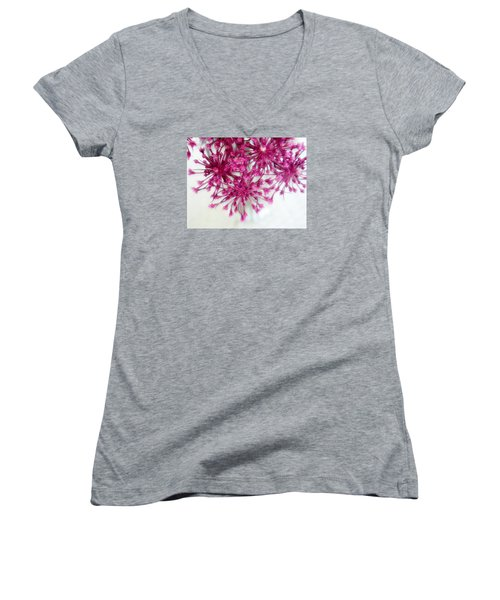 Background 7 Women's V-Neck T-Shirt (Junior Cut)
