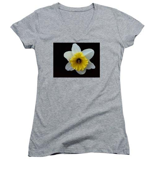 Backyard Flower II Women's V-Neck