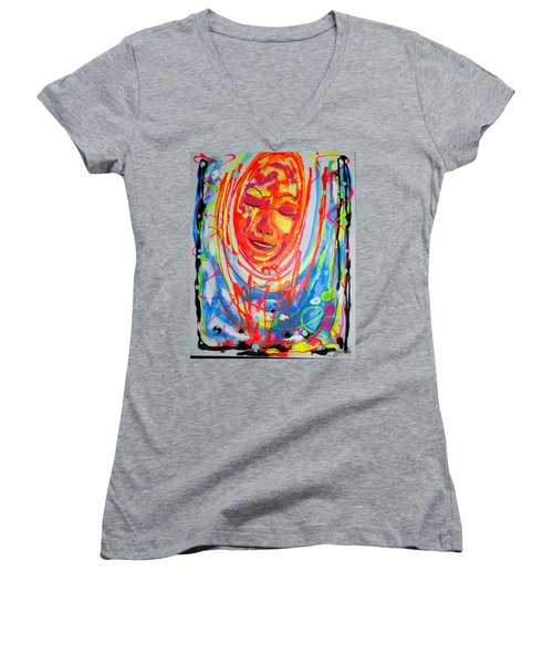 Baddreamgirl Women's V-Neck