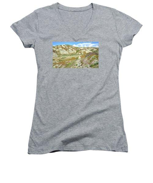Badlands Of Wyoming Women's V-Neck