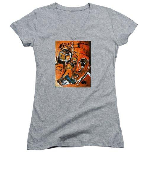 Baggage Women's V-Neck T-Shirt