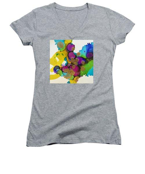 Be More You Women's V-Neck T-Shirt (Junior Cut) by Tara Moorman