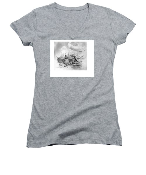Balanced In The Field Women's V-Neck (Athletic Fit)