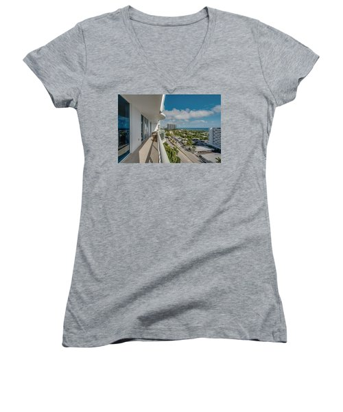 Balcony Life Women's V-Neck
