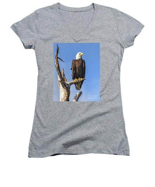 Bald Eagle 6366 Women's V-Neck
