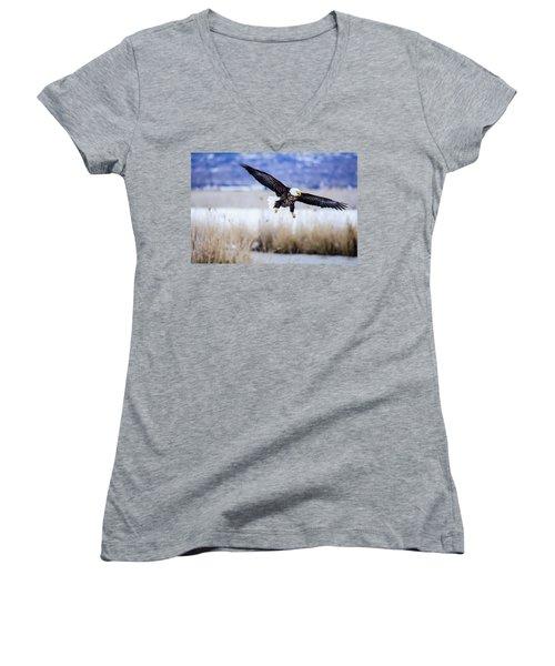 Bald Eagle Landing Women's V-Neck