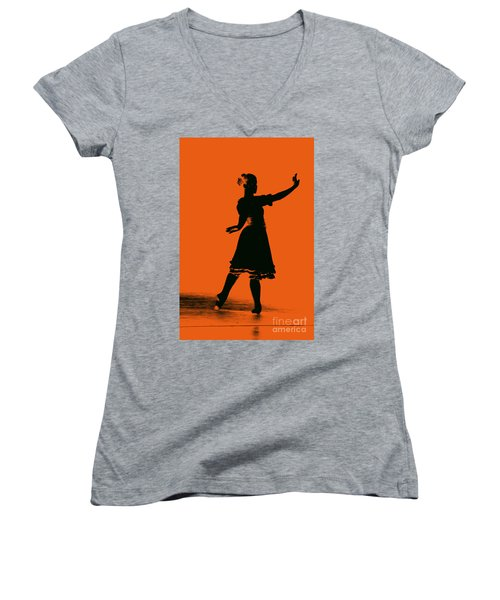 Ballet Girl Women's V-Neck