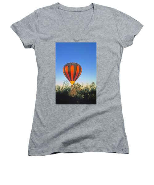 Balloon Launch Women's V-Neck (Athletic Fit)