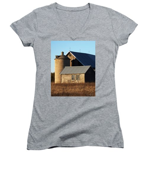 Barn At 57 And Q Women's V-Neck