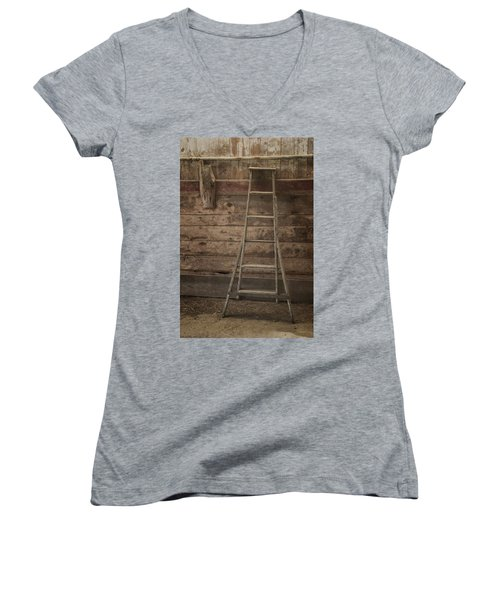 Barn Ladder Women's V-Neck