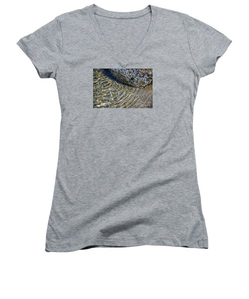 Barnacles And Reflection Women's V-Neck