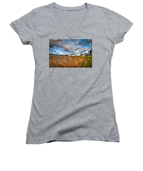 Barns And Cotton Women's V-Neck T-Shirt