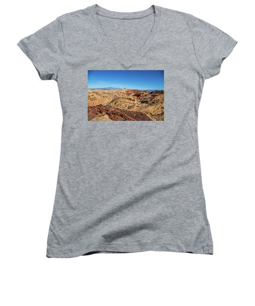 Barren Desert Women's V-Neck