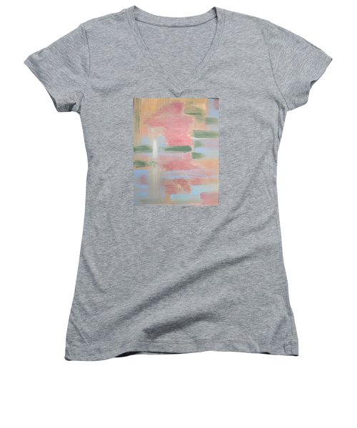 Bather Women's V-Neck T-Shirt (Junior Cut) by Tamara Savchenko