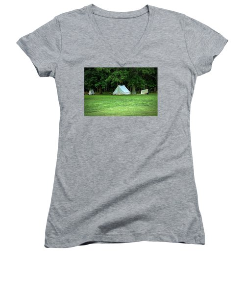 Battlefield Camp Women's V-Neck