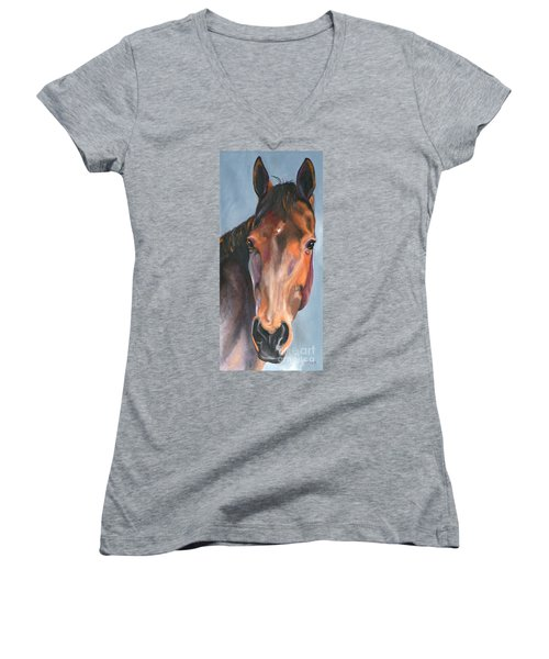Thoroughbred Royalty Women's V-Neck (Athletic Fit)