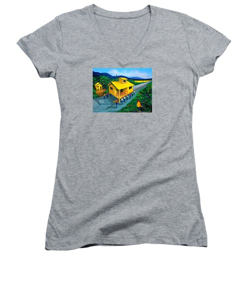 Bayanihan Women's V-Neck T-Shirt