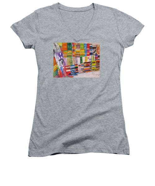 Bazaar Sabado - Gifted Women's V-Neck T-Shirt