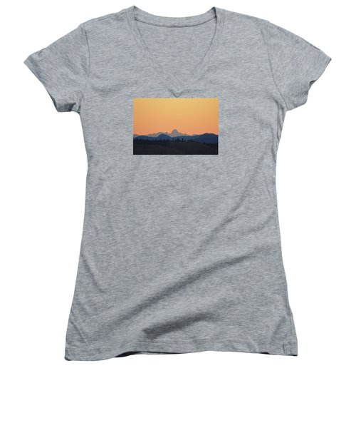 B C Dawn Women's V-Neck T-Shirt